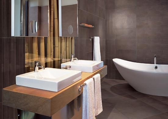 Cr ation de salle de bain for Sdb moderne